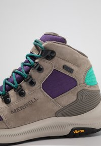 Merrell - ONTARIO 85 MID WP - Hiking shoes - acai