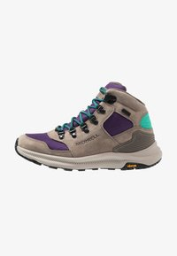 Merrell - ONTARIO 85 MID WP - Chaussures de marche - acai - 0