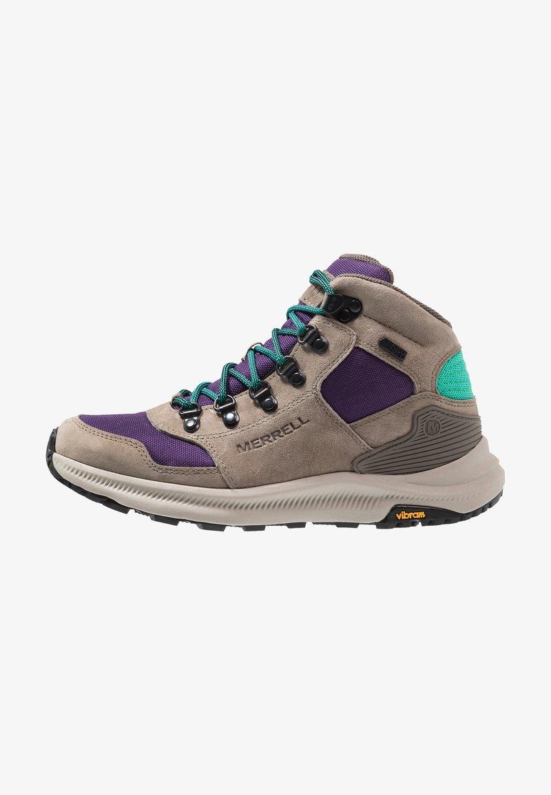 Merrell - ONTARIO 85 MID WP - Hiking shoes - acai