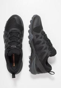 Merrell - SIREN 3 GTX - Outdoorschoenen - black - 1