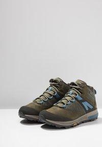 Merrell - ZION MID GTX - Hiking shoes - dark olive - 2