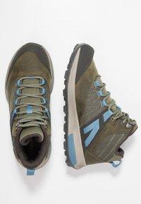 Merrell - ZION MID GTX - Hiking shoes - dark olive - 1