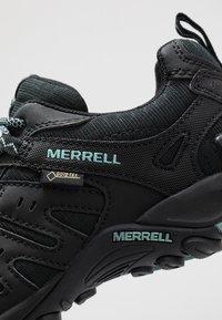 Merrell - ACCENTOR SPORT GTX - Hiking shoes - black/aquifer - 5