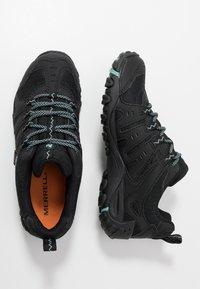 Merrell - ACCENTOR SPORT GTX - Hiking shoes - black/aquifer - 1