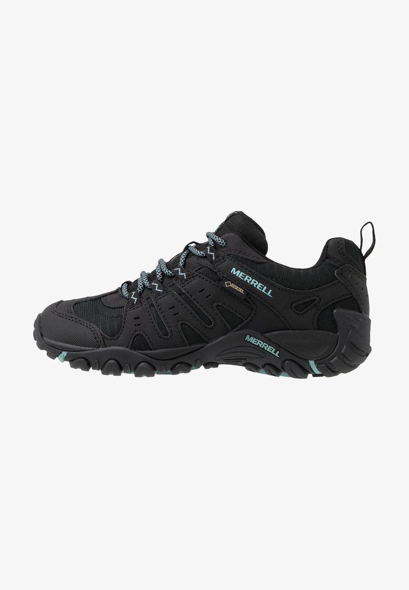 Merrell - ACCENTOR SPORT GTX - Hiking shoes - black/aquifer
