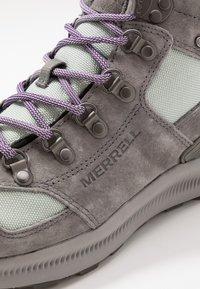 Merrell - ONTARIO 85 MID WP - Hikingsko - charcoal - 5