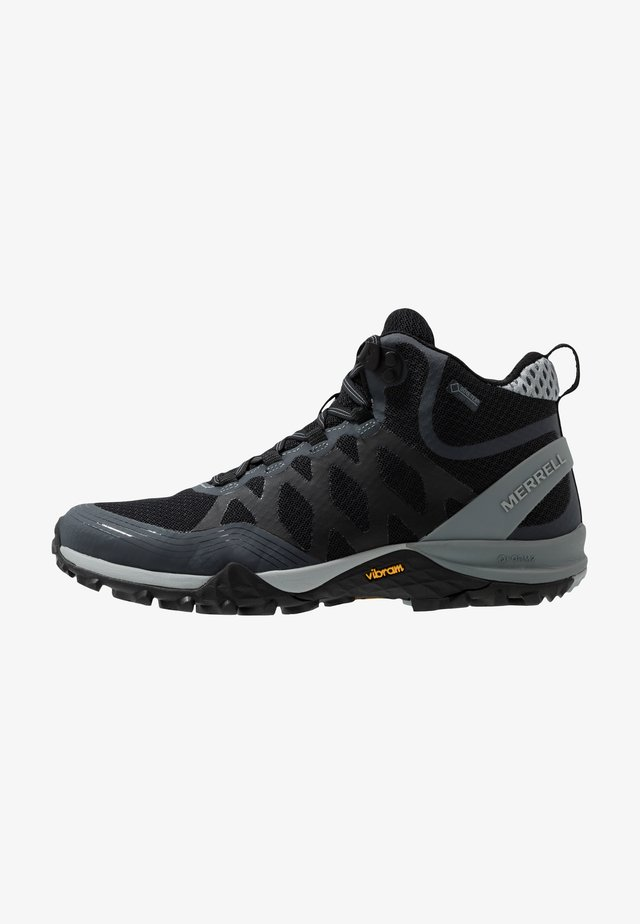 SIREN 3 MID GTX - Hiking shoes - black