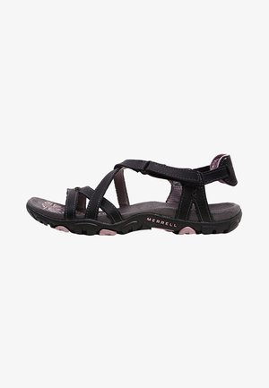 SANDSPUR ROSE LTR - Outdoorsandalen - black/lilac keepsake