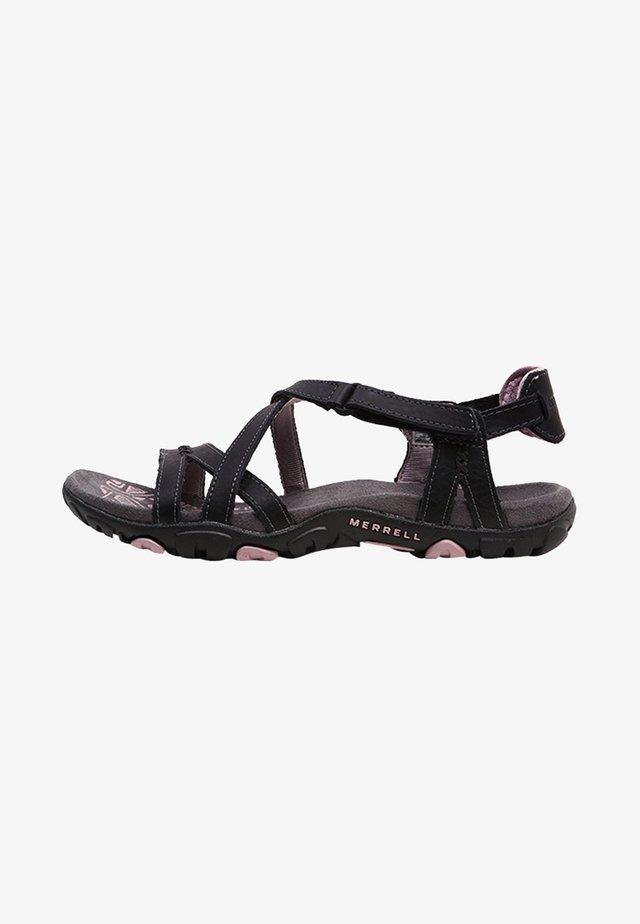 SANDSPUR ROSE LTR - Walking sandals - black/lilac keepsake