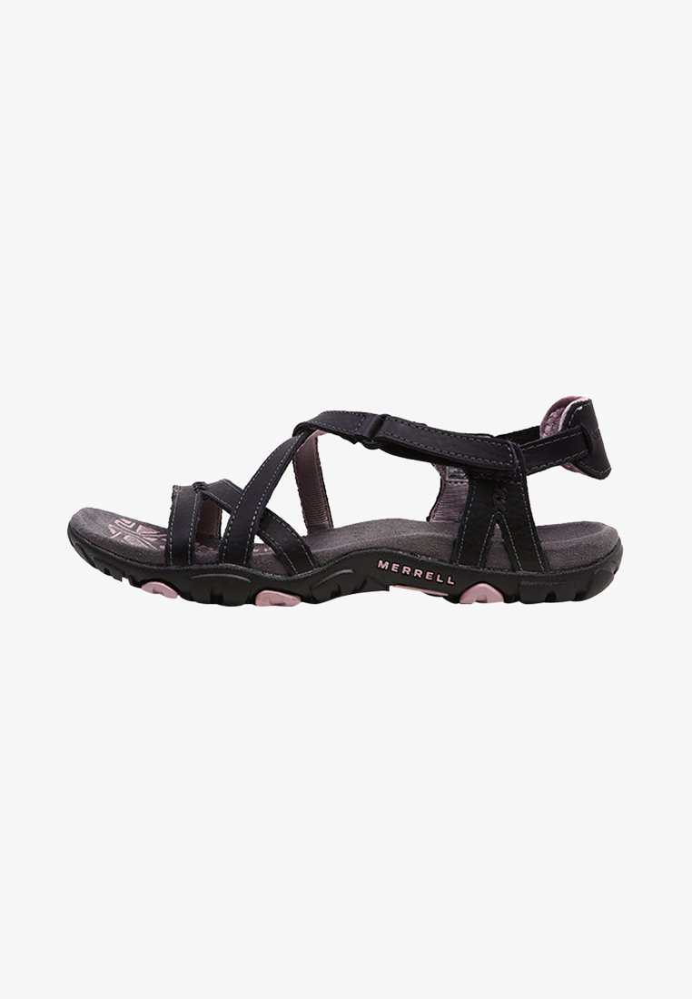 Merrell - SANDSPUR ROSE LTR - Walking sandals - black/lilac keepsake