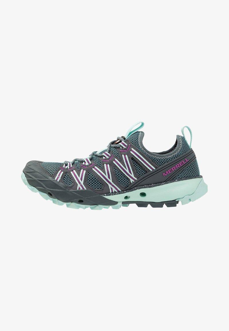 Merrell - CHOPROCK - Hiking shoes - blue smoke