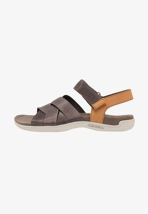 DISTRICT MAYA BACKSTRAP - Walking sandals - brown