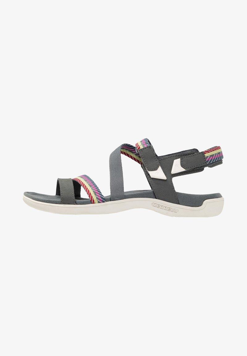 Merrell - DISTRICT MENDI BACKSTRAP - Walking sandals - turbulence