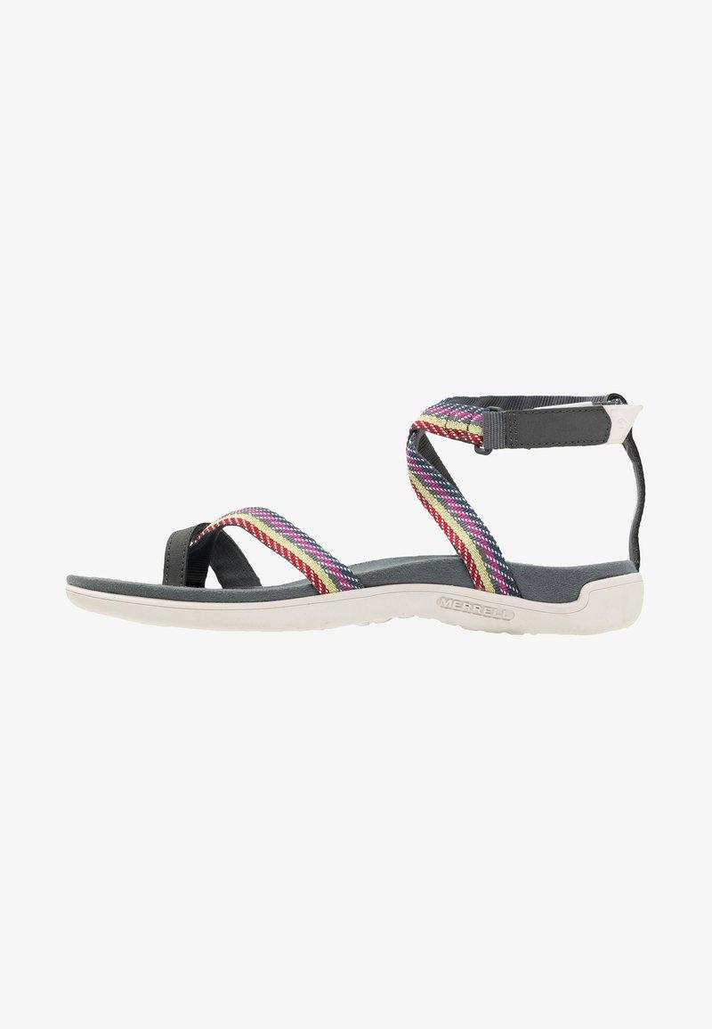 Merrell - DISTRICT MENDI WRAP - Walking sandals - turbulence