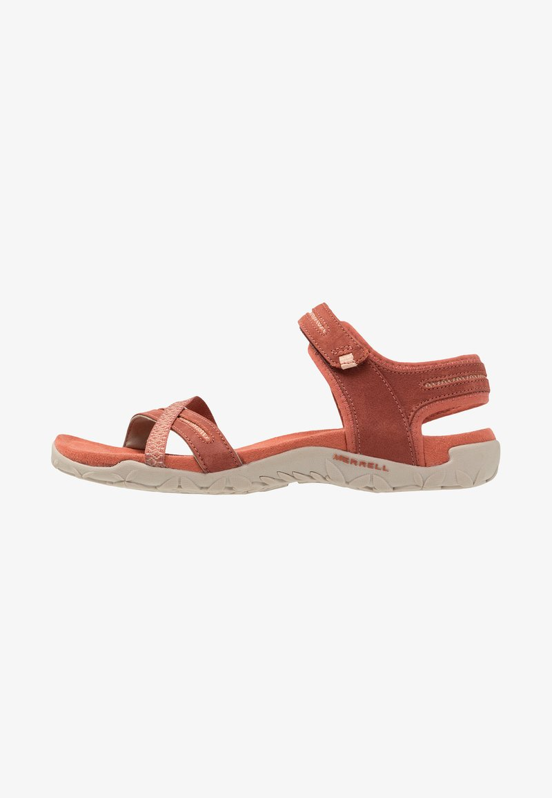 Merrell - TERRAN CROSS II - Walking sandals - redwood