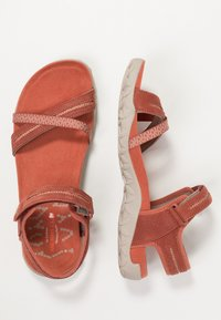Merrell - TERRAN CROSS II - Walking sandals - redwood - 1