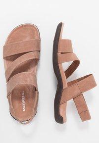 Merrell - DISTRICT KANOYA STRAP - Walking sandals - carob - 1