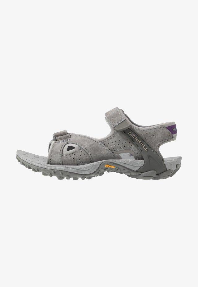 KAHUNA 4 STRAP - Walking sandals - grey