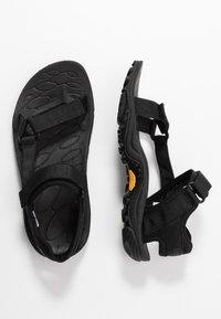 Merrell - KAHUNA WEB - Walking sandals - black - 1