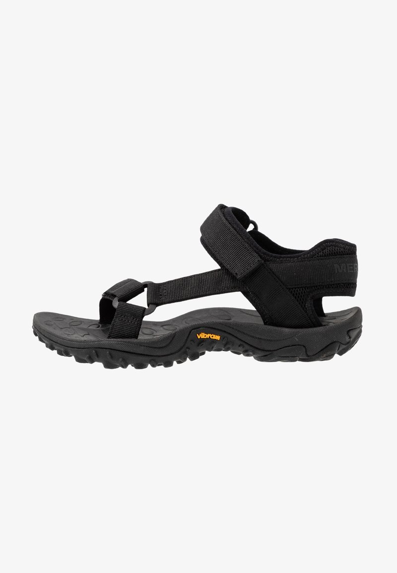 Merrell - KAHUNA WEB - Walking sandals - black