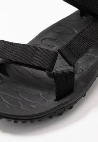 Merrell - KAHUNA WEB - Walking sandals - black - 5