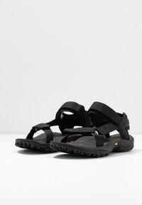 Merrell - KAHUNA WEB - Walking sandals - black - 2