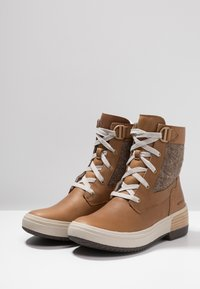 Merrell - HAVEN MID LACE WP - Winter boots - tobacco - 2
