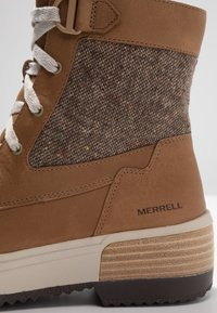 Merrell - HAVEN MID LACE WP - Winter boots - tobacco - 5