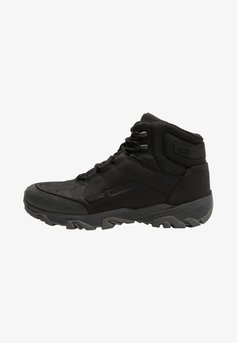 Merrell - COLDPACK ICE MID WATERPROOF - Hikingschuh -  black