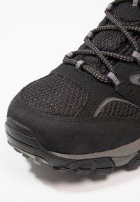 Merrell - MOAB 2 GTX - Obuwie hikingowe - black - 5