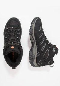 Merrell - MOAB 2 MID GTX - Zapatillas de senderismo - black - 1