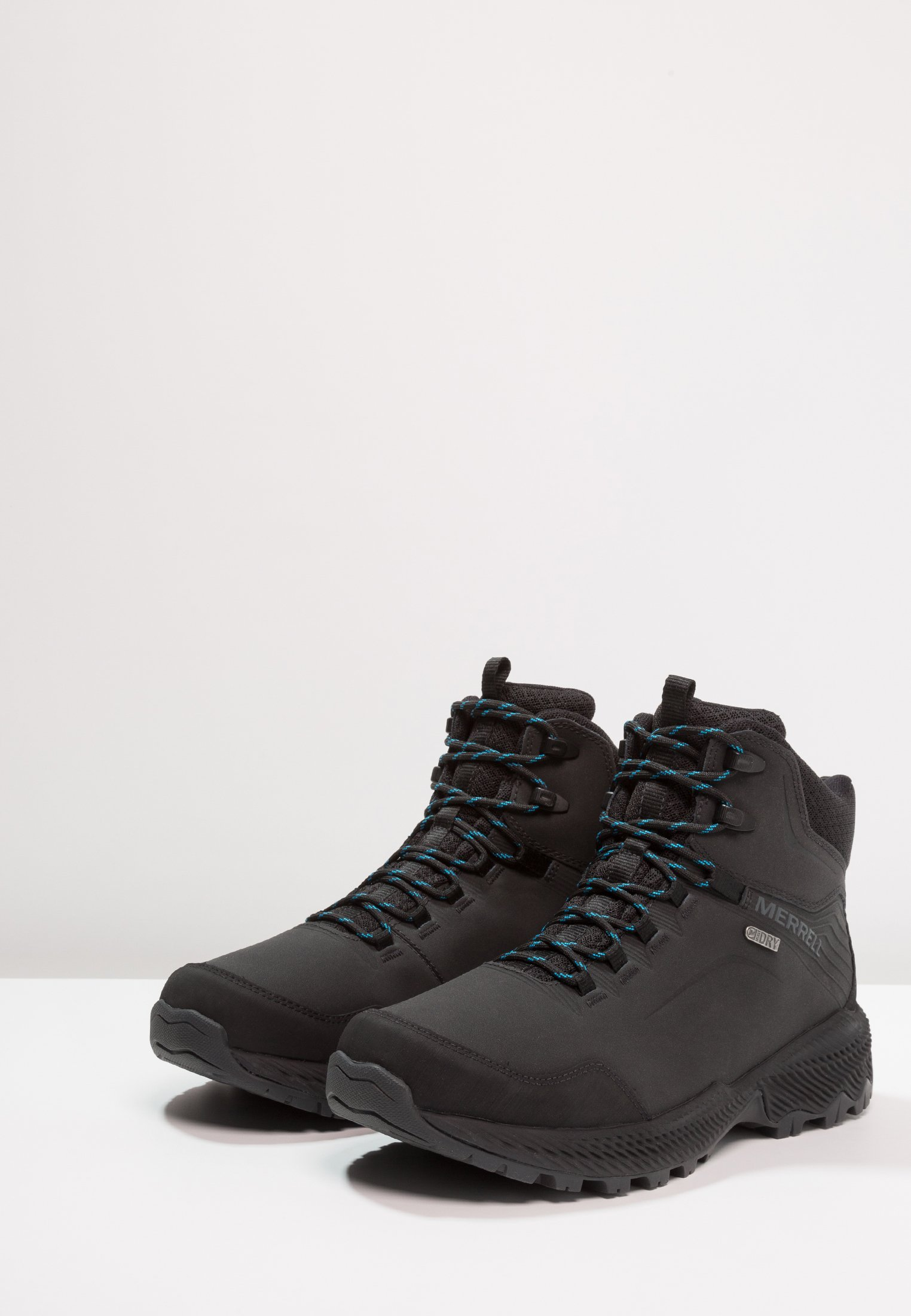 Merrell FORESTBOUND MID WP Hikingschuh black