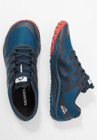 Merrell - TRAIL GLOVE 5 - Běžecké boty do terénu - sailor blue - 1
