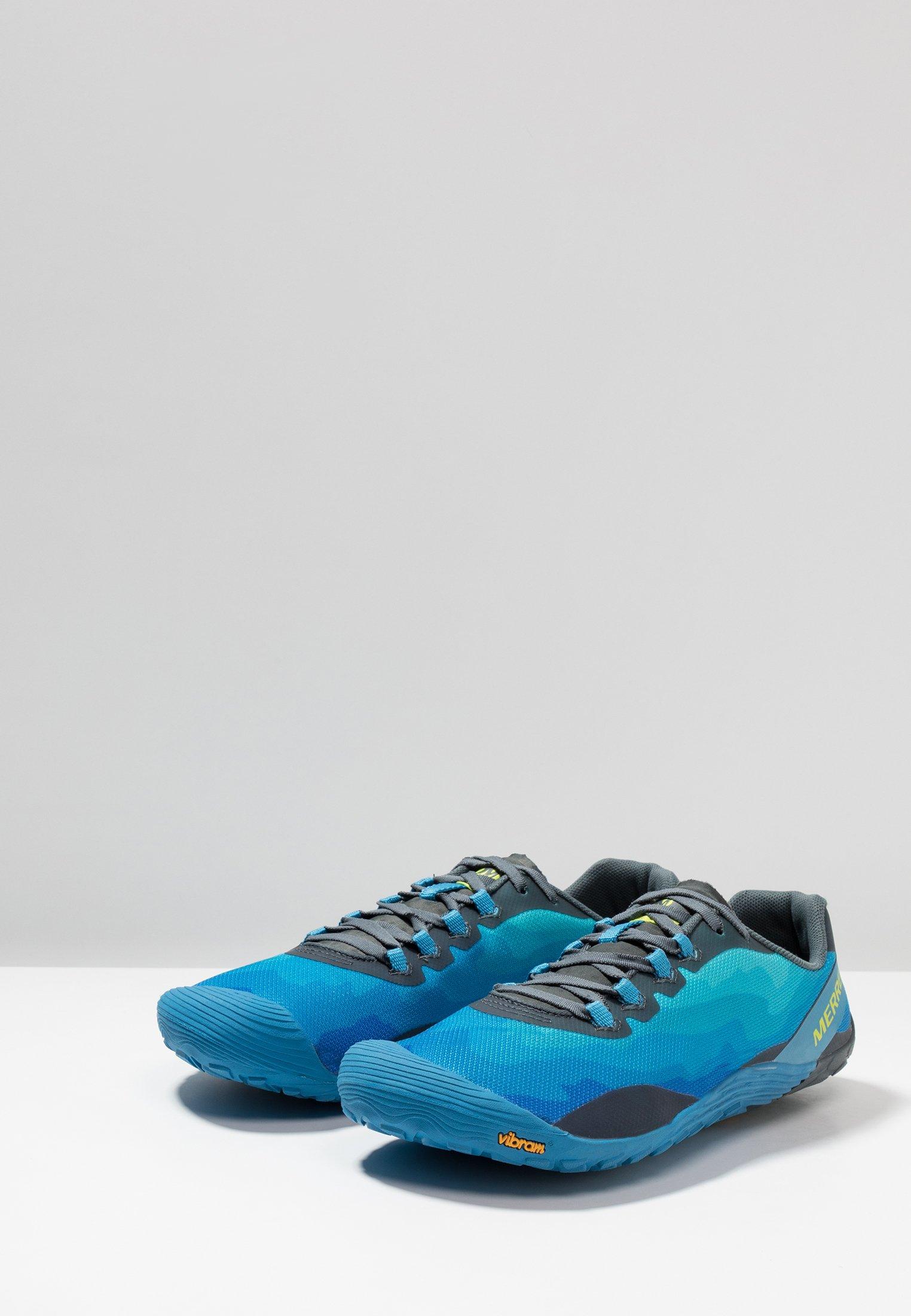 Merrell VAPOR GLOVE 4 - Chaussures de course neutres - mediterranian blue