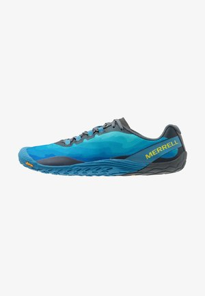 VAPOR GLOVE 4 - Minimalist running shoes - mediterranian blue