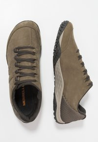Merrell - PARKWAY EMBOSS LACE - Hiking shoes - dusty olive - 1
