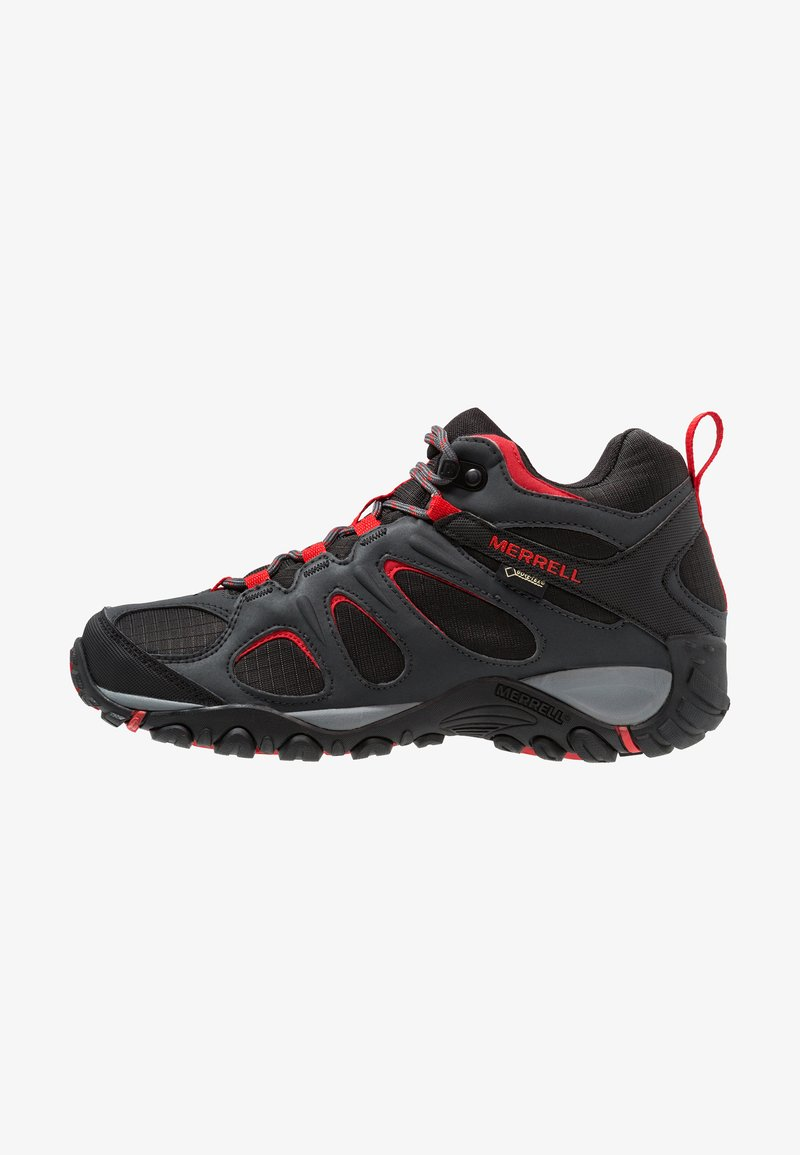 Merrell - YOKOTA 2 SPORT MID GTX - Hiking shoes - black/high risk