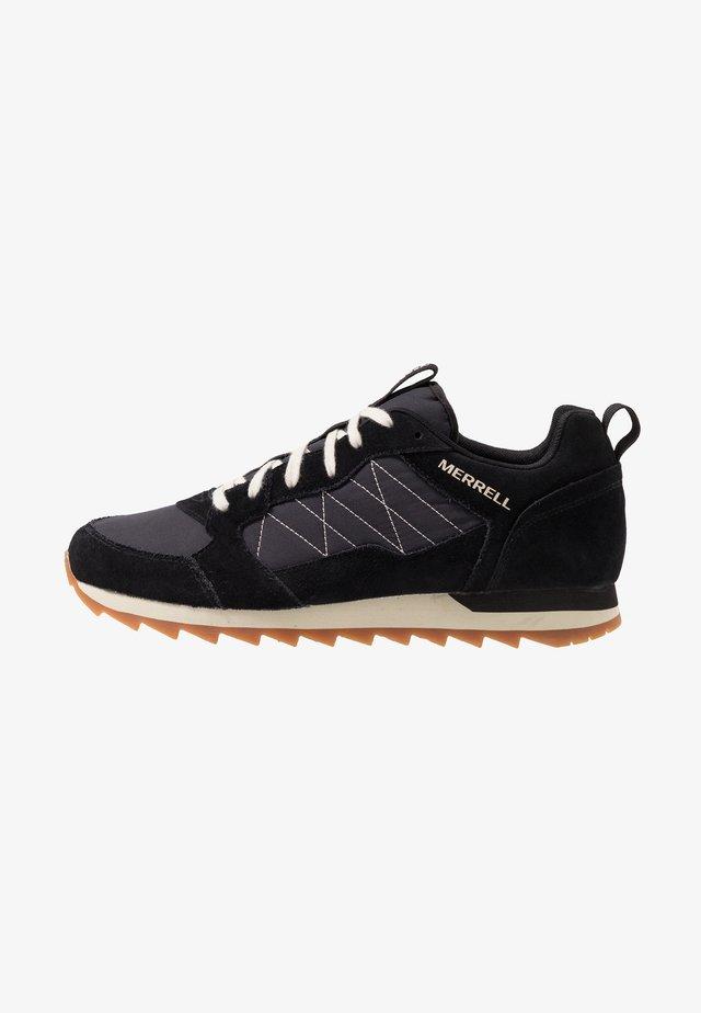 ALPINE - Sneaker low - black
