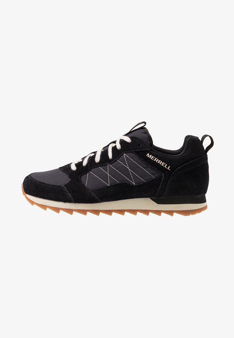 Merrell - ALPINE - Matalavartiset tennarit - black
