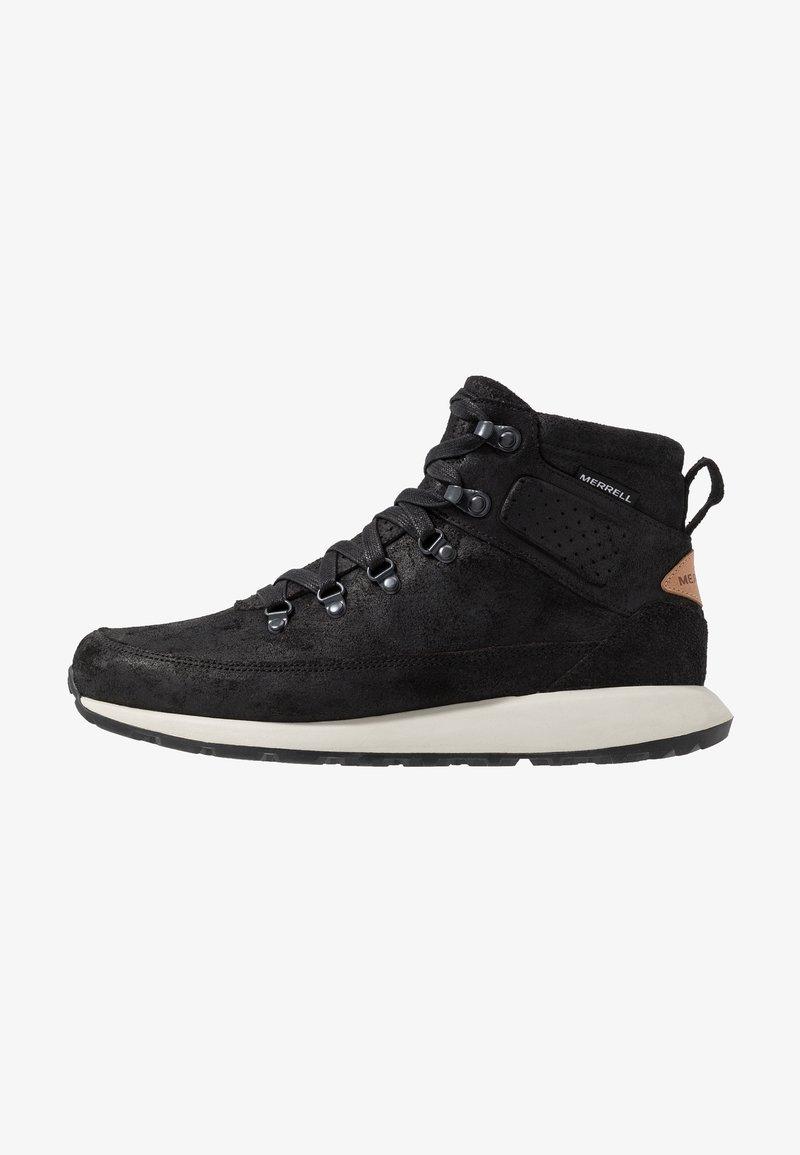 Merrell - ASHFORD CLASSIC CHUKKA - Chaussures de marche - black