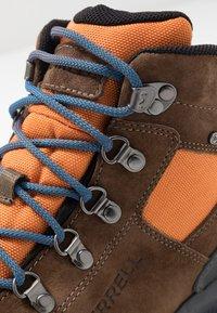 Merrell - ONTARIO 85 MID WP - Zapatillas de senderismo - exuberance - 5
