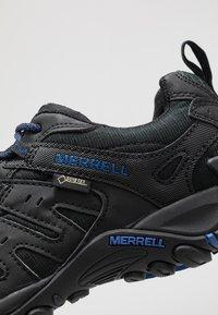 Merrell - ACCENTOR SPORT GTX - Vaelluskengät - black/sodalite - 5