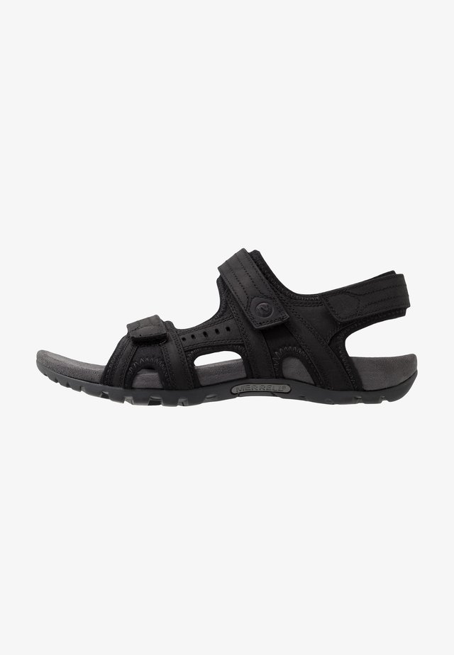 SANDSPUR LEE BACKSTRAP - Trekkingsandaler - black