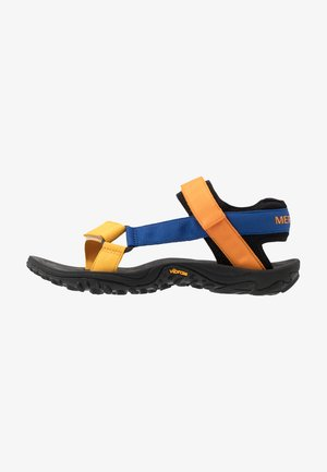 KAHUNA - Sandalias de senderismo - blue/orange