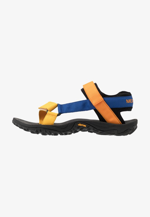 KAHUNA - Trekkingsandaler - blue/orange
