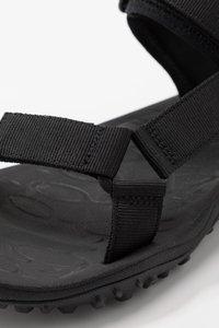 Merrell - KAHUNA - Trekkingsandaler - black - 5