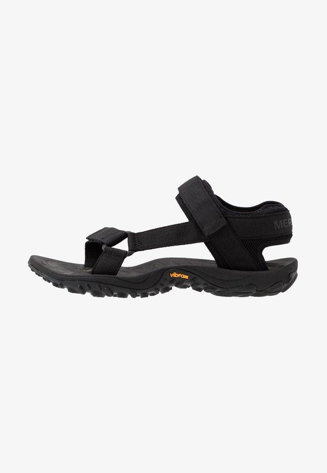 KAHUNA - Walking sandals - black