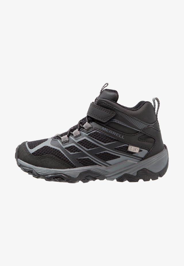 MOAB MID A/C WTRPF - Hiking shoes - black