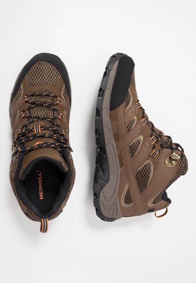 MOAB 2 MID WTRPF - Hiking shoes - earth