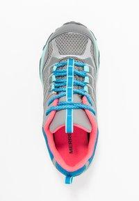 Merrell - MOAB FST LOW WTRPF - Outdoorschoenen - grey/turquoise/pink - 1